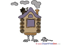 Hut on Chicken Legs Pics Fairy Tale free Image