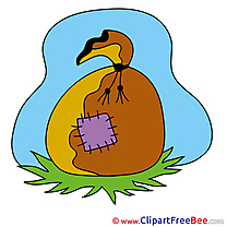 Bag Grass Clip Art download for free