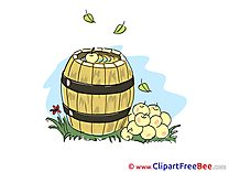 Barrel Apples Clipart free Image download