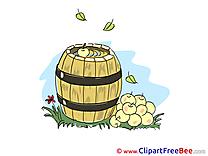 Barrel Apples Clipart free Image download