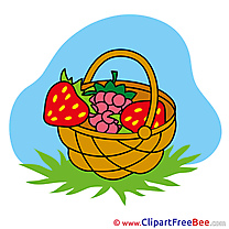 Basket Mushrooms Pics free download Image