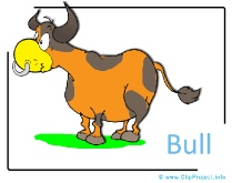 Bull Clipart Image free - Farm Cliparts free