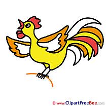 Cock download printable Illustrations