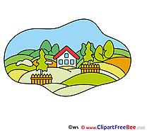 Ranch Farm House Pics free Illustration