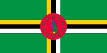 Dominica flag free image