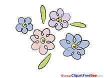 Field of Flowers Cliparts Flowers for free