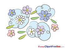 Field of Flowers download Clipart Flowers Cliparts