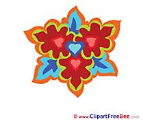 Kaleidoscope free Illustration Flowers
