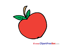 Apple download printable Illustrations