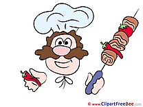 Cook Clipart free Illustrations