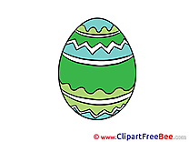 Easter Egg Clipart free Illustrations