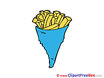 Fried Popatos download Clip Art for free