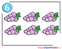 Grapes free printable Cliparts and Images