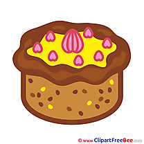 Pastry printable Illustrations Birthday