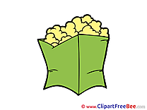 Popcorn Images download free Cliparts