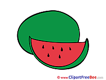Watermelon printable Illustrations for free