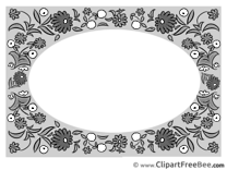 Black and White Clipart Frames Illustrations