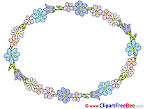 Oval Frames Clip Art for free