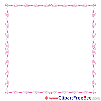 Pink Clipart Frames free Images