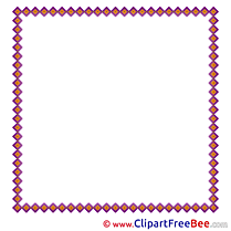 Purple download Clipart Frames Cliparts