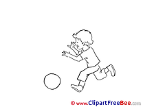 Vacation Boy with Ball free Images download