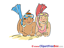 Vacation Divers download Illustration