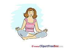 Yoga Clipart Vacation free Images