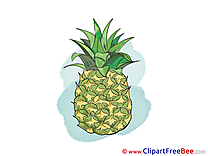 Ananas free printable Cliparts and Images