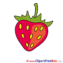 Berry Strawberry download printable Illustrations