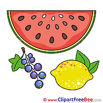 Currant Watermelon Lemon Images download free Cliparts
