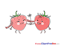 Strawberries Pics download Illustration