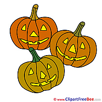 Drawing Pumpkins Halloween Illustrations for free
