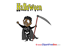 Grim Reaper free Illustration Halloween
