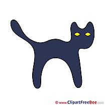 Kitten Clipart Halloween free Images