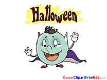 Mask Vampire printable Illustrations Halloween