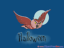 Owl Night Clipart Halloween free Images