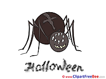 Spider Clipart Halloween free Images