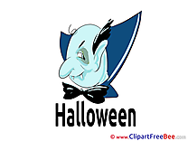 Vampire Clipart Halloween Illustrations