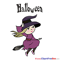 Witch Halloween Illustrations for free