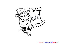 Santa Claus Clipart New Year free Images