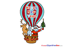 Air Balloon printable New Year Images