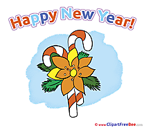 Candies printable Illustrations New Year