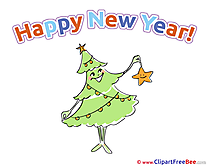 Card New Year free Images download
