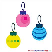 Clip Art Balls download New Year