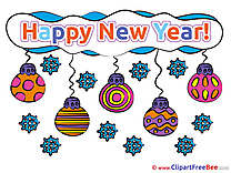 Clipart Balls New Year free Images
