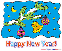 Clipart Night New Year free Images