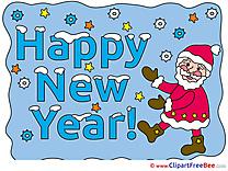 Free Santa Claus Cliparts New Year