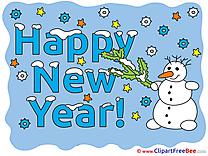 Free Snowman Illustration New Year