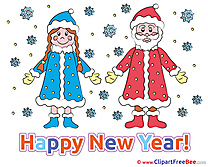 Maiden Santa Claus download Clipart New Year Cliparts