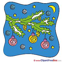 Moon Night Pics New Year free Cliparts